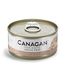 Canagan Chicken & Crab 75g