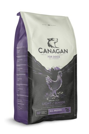 Canagan free range chicken light & senior 2kg