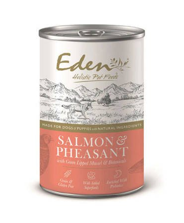 Eden Holistic dogs & puppies Salmon & Pheasant 400g
