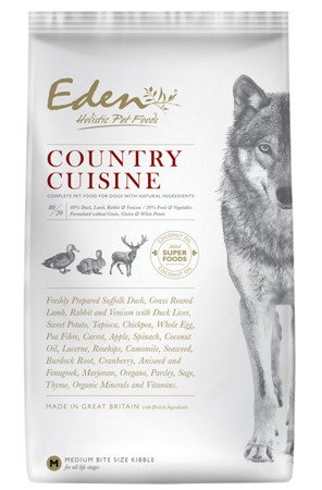 Eden holistic Country Cuisine Medium & Large breed 12kg