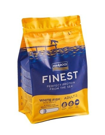Fish4Dogs Finest Ocean White Fish Adult 1,5kg