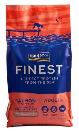 Fish4Dogs Finest Salmon Adult 12kg