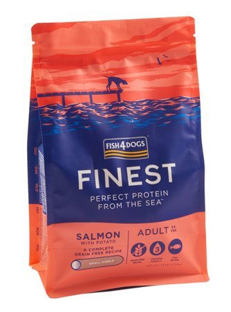 Fish4Dogs Finest Salmon Adult small breed 1,5kg