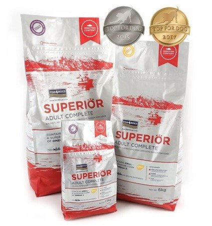 Fish4Dogs Superior Adult Complete 1,5kg