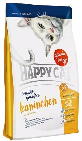 Happy Cat sensitive grain free Kaninchen 4kg
