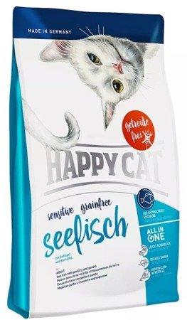 Happy Cat sensitive grain free Seefisch 4kg