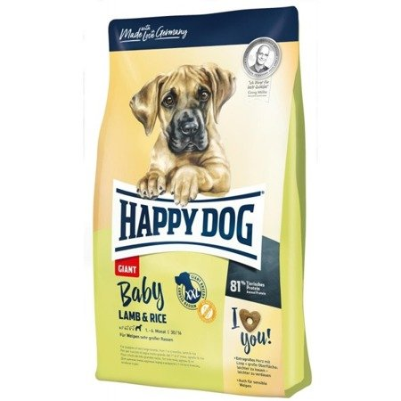Happy Dog Baby Giant lamb & rice 15kg