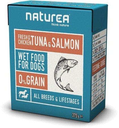 Naturea fresh Chicken Tuna & Salmon 375g