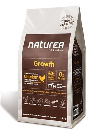 Naturea grain free Growth Puppy Chicken medium & large breed 2kg