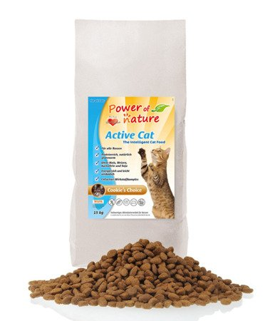 Power of Nature Active Cat Cookie's Choice 6kg