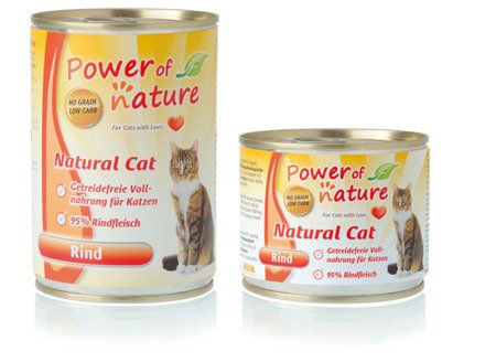 Power of Nature cat Beef 400g