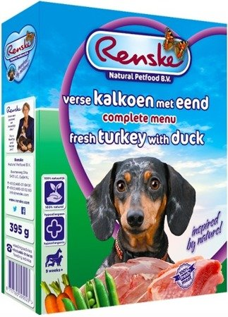 Renske gluten free Fresh Turkey & Duck 395g