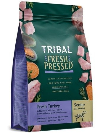 Tribal senior fresh pressed turkey light 2,5kg