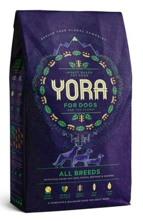 Yora insect dog food 6kg